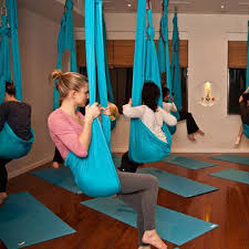 elastic decompression inversion therapy yoga swing aerial yoga