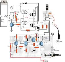 On Off Timer Circuit Diagram Gsm Based Cell Phone Remote Control Switch Circuit