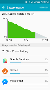 abnormally high cell standby on battery usag u2026 samsung galaxy s6 edge