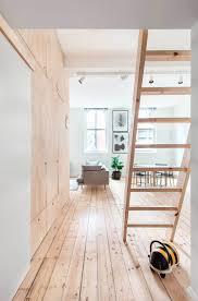 flinders lane space efficient apartment mezzanine open plan and