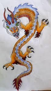 chinese dragon tattoo queenmariann deviantart