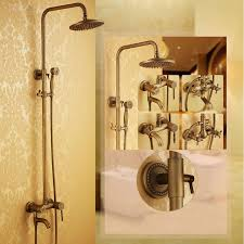Antique Brass Bathroom Faucet by Choose Bathroom Shower Faucet Remember 4 Considerations