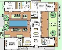 center courtyard house plans house plans with pool in center courtyard home decor 2018
