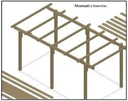 montaggio tettoia in legno una tettoia garage costruita in legno