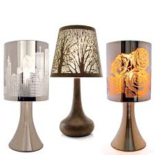 Stand Of Table Lamp Furniture Pair Of Touch Bedside Table Lamps With Stainless Steel