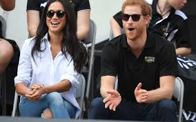 prince harry and meghan markle are smitten at invictus games