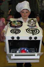 Food Costumes Kids Food Drink Halloween Costume Chef Stove Halloween Costumes
