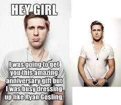Ryan Gosling Hey Girl Memes - this ryan gosling look alike recreated some hey girl memes for
