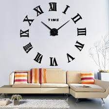home design 3d remove wall 2017 quartz watch fashion home limited hot sale 3d large mirror diy