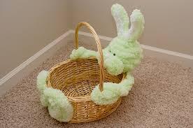 bunny basket easter bunny basket craft craftshady craftshady