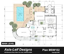 modern residential house plan and drawing ideas features modern