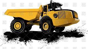 dump truck heavy construction dump truck vector image 54115 u2013 rfclipart