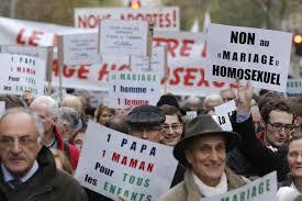 mariage pour tous manif contre le mariage pour tous