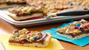 quick easy cookie pizza recipes and ideas pillsbury com