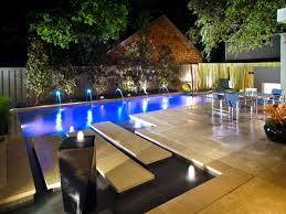 Pool Landscape Lighting Ideas by How To Make Your Yard Private Hgtv