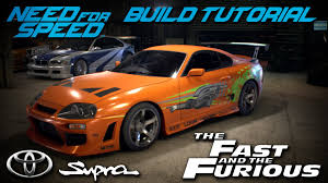 toyota supra fast and furious need for speed 2015 the fast u0026 the furious brian u0027s toyota supra