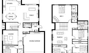 floor plans for two story homes 24 best simple two story house floor plans ideas architecture