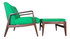 jens risom lounge chair u0026 ottoman chairish