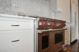 Marble Mosaic Backsplash Tile by Mosaic Marble Backsplash Tiles Contemporary Kitchen Veranda