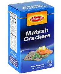 osem matzah osem matzo crackers matzo matzah crackers passover bakery