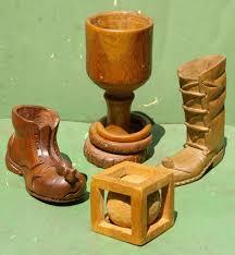 Bird Toothpick Dispenser Folk Art Carved Boot With Mouse Toothpick Holder Zachary Miller