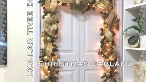 christmas garland diy dollar tree christmas garland vd 8