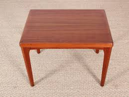 Teak Side Table Danish Teak Side Table By Henning Kjaernulf For Vejle Mobelfabrik