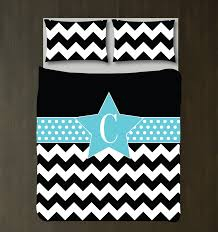 Monogrammed Comforters Personalized Star Chevron And Dot Bedding For Girls U2013 Shop Wunderkinds