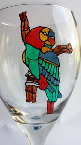 martini glass painting 224 best glass painting images on pinterest hand painted glass