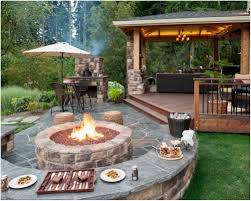 backyards trendy backyard pool firepit 99 decks with fire pits