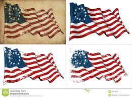 13 Stars In The United States Flag Usa Betsy Ross Historic Flag Stock Illustration Image 25812259