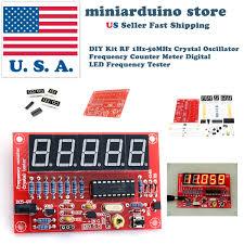 Diy Kit by Diy Kit Rf 1hz 50mhz Crystal Oscillator Frequency Counter Meter
