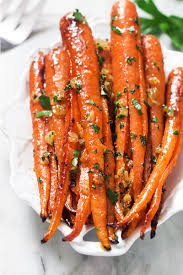 carrots thanksgiving honey garlic butter roasted carrots recipe u2014 eatwell101