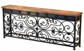 Iron Console Table Wrought Iron Foyer Table Foter
