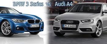 bmw 3 vs audi a4 bmw 3 series vs audi a4 auto types