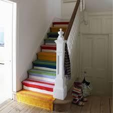 tappeto per scale decor casa fai da te la scala multicolor