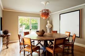 Round Wooden Dining Set Hollywood Hills Clements Design Clements Design Pinterest
