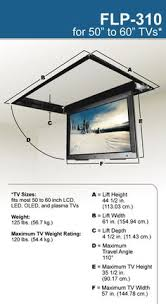 Drop Down Tv From Ceiling by Universal Ceiling Projector Mount With 15 Degree Tilt 22 Lb