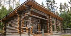 One Story Log Cabins Finally A One Story Log Home That Has It All Click To View Floor