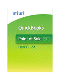 quickbooks point of sale 2013 official guide point of sale
