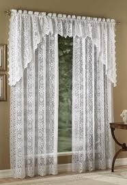 Lorraine Curtains Hopewell Lace Curtains By Lorraine Home Fashions Paul S Home