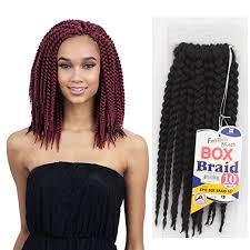 pre braided crochet hair freetress epic box braid synthetic crochet braiding