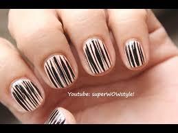 short nails tutorial nail art design for very short nails