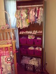 bookcase for baby room my daughters bookshelf closet nursery organization pinterest