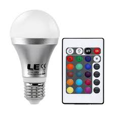 multicolor led light bulb 127 decorating with color changing