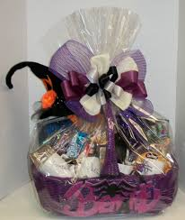 Halloween Candy Gift Baskets by Stdunn Gift Basket Creations