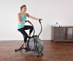 amazon com stamina ats air resistance exercise bike sports