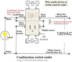 how to wire combo device wireing pinterest wire switch wire