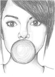 gallery face easy sketch drawing art gallery