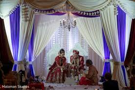 Indian Wedding Decorators In Nj Cedar Grove Nj Indian Fusion Wedding By Maloman Studios